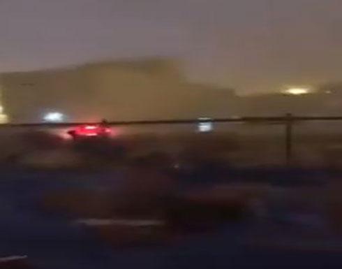 عواصف رعديه وامطار غزيره ورياح قوية في مكه وجبل عرفات