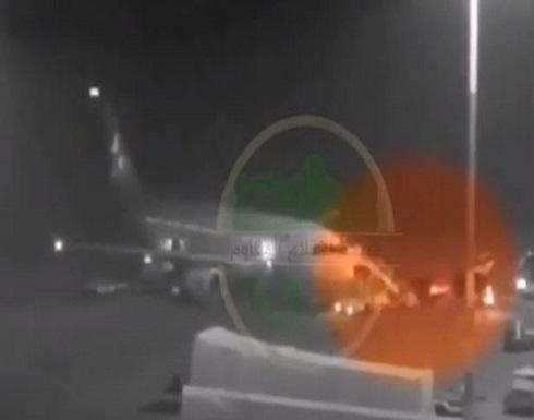 لقطات مسربة للحظة وصول واغتيال قاسم سليماني .. بالفيديو