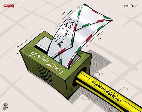 رسائل إيرانية إلى الكاظمي