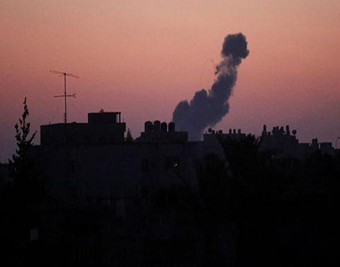 قصف إسرائيلي شمالي قطاع غزة