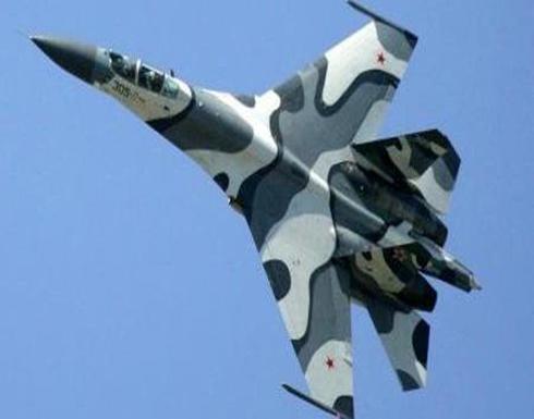 بالفيديو : مقاتلة روسية تعترض طائرة تجسس أميركية فوق البحر الأسود