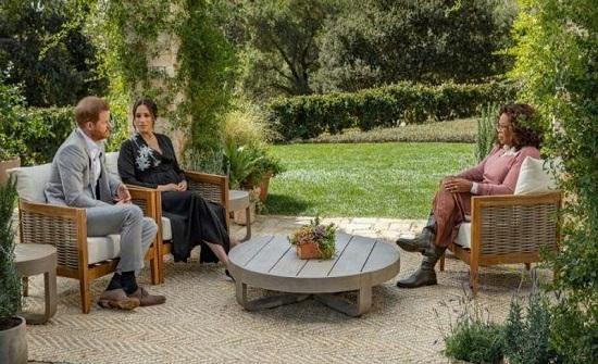 الأمير هاري وزوجته يجتمعان مجددا بأوبرا وينفري
