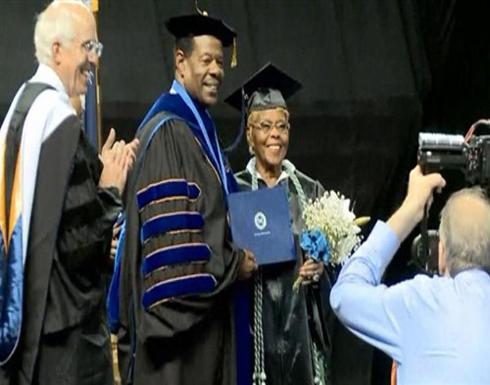 أمريكية تحصل على درجة جامعية وعمرها 92 عامًا