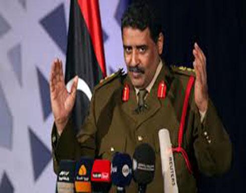 المسماري: الجيش الوطني يتقدم صوب طرابلس من 7 محاور