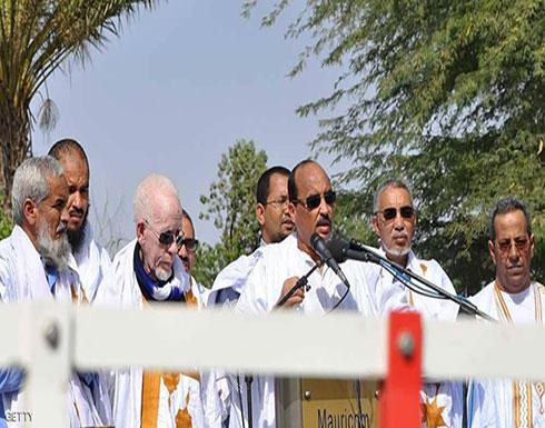 """رئيس موريتانيا يقود مسيرة ضخمة لوضع حد لـ""""الإرث الأسود"""""""