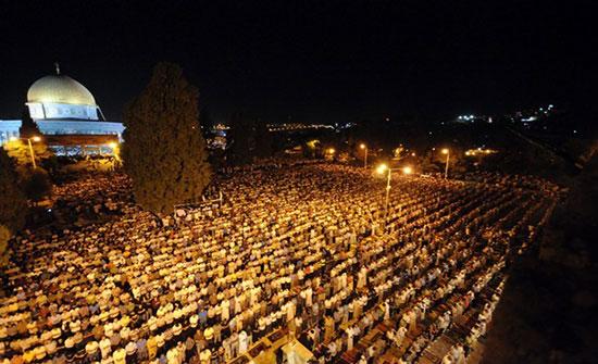 إمام المسجد الأقصى يدعو للأردن في ليلة القدر.. فيديو