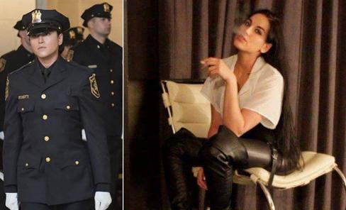 """شرطية تخسر عملها بسبب ماضيها """" صور """""""