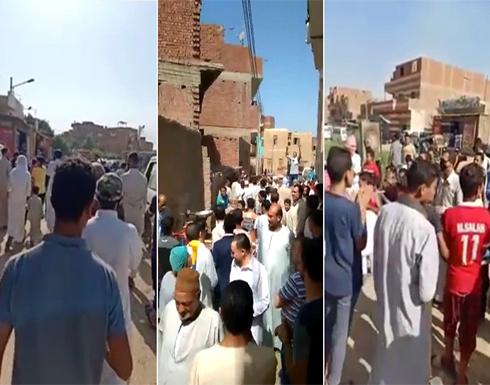"""شاهد : الأمن المصري يتصدى لمظاهرات """"جمعة الغضب"""" ويعتقل عشرات المحتجين"""