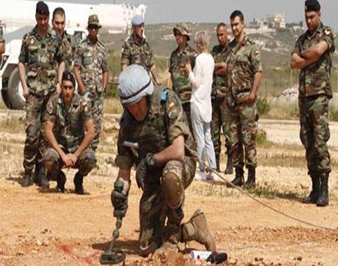 """لبنان.. """"يونيفيل"""" تبحث عن قنابل عنقودية بمناطق القصف الإسرائيلي"""