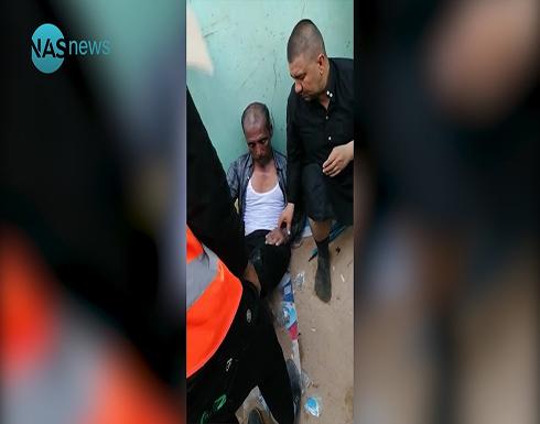 شاهد : 31 قتيلا و100 جريح بانهيار ممشى في كربلاء