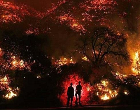 """""""تحديد رفات بشرية"""" يرفع عدد قتلى حرائق كاليفورنيا"""