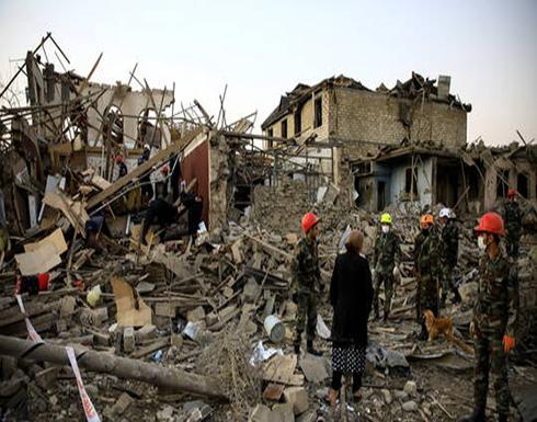 باكو: ارتفاع عدد الضحايا بين المدنيين الأذربيجانيين بالهجمات الأرمنية إلى 91 قتيلا