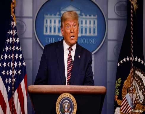 """ترامب """"يقول إنه سيعود للرئاسة"""" في أغسطس"""