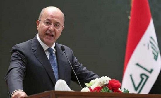 الرئيس العراقي يزور دولة قطر الخميس المقبل
