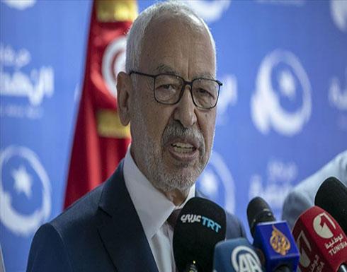 """الغنوشي: النهضة لن تشارك بحكومة فيها """"قلب تونس"""""""