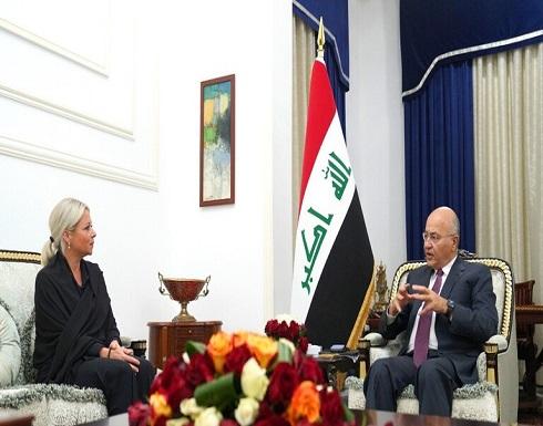 الرئيس العراقي: الانتخابات المبكرة يجب أن تكون بعيدة عن سطوة السلاح والتزوير