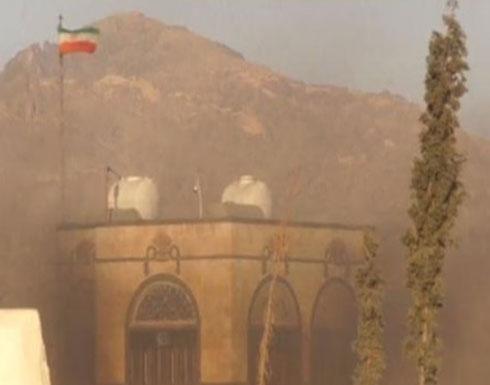 سفارة إيران بصنعاء تتعرض لقذيفة صاروخية أدت لاحتراقها