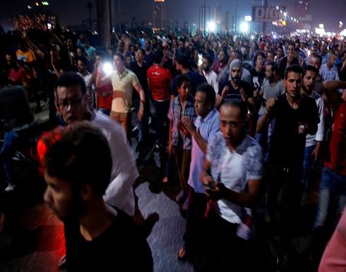 شاهد : مظاهرات لليوم الثاني على التوالي في مصر للمطالبة برحيل السيسي