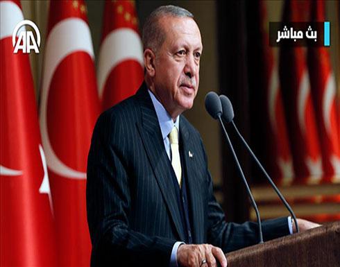 أردوغان: صبرنا سينتهي ما لم يتم إخراج الإرهابيين من منبج قربيا