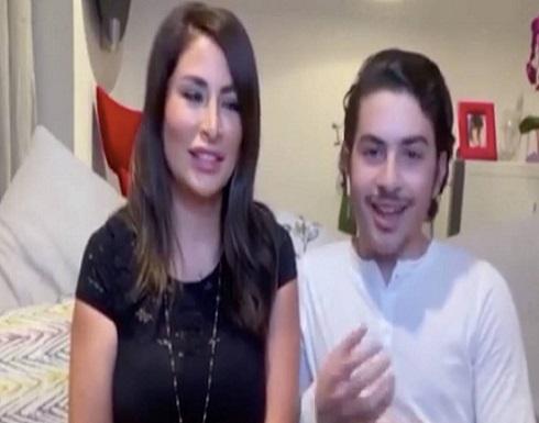 شاهد.. ابن تيم حسن يتعرض لانتقادات لاذعة بسبب عدم تمكنه من الكلام بالعربية!