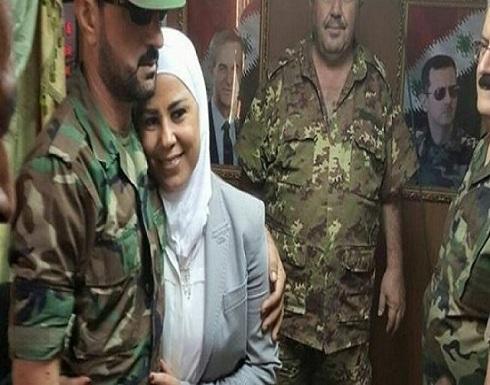 اقالة وزيرة سورية بعد ضبطها في حضن العقيد سهيل الحسن