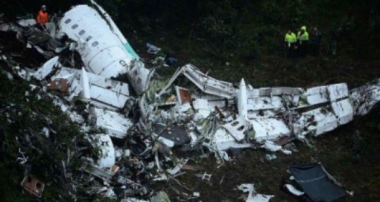 20 صحافيا في عداد قتلى حادث تحطم الطائرة في كولومبيا
