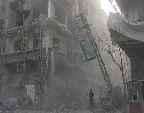 """هدنة الساعات الـ 5 """"خدعة"""" و""""صامدون للنهاية"""".. جولة في شوارع الغوطة المنكوبة (تقرير)"""
