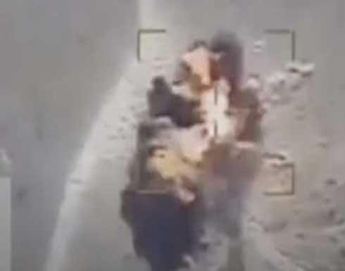 طيران التحالف يحصد مجاميع حوثية في جبهات مأرب والجوف .. بالفيديو