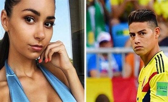 أغرب طلب من جماهير كولومبيا لرفيقة رودريجيز مهاجم ريال مدريد