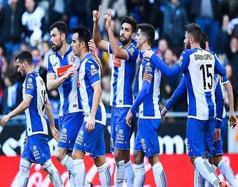 إسبانيول يقفز خلف برشلونة المتصدر