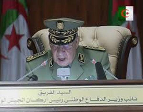 بالفيديو : الفريق قايد صالح يوجه رسالة إلى الشعب الجزائري