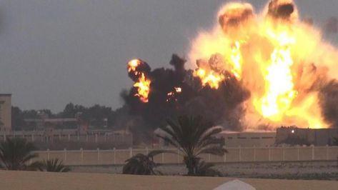 9 قتلى من الشرطة المصرية وإصابة 10 بانفجار مركبة بالعريش
