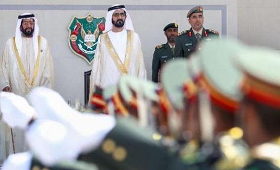 الأردني الرحامنة الأول بين خريجي كلية زايد العسكرية
