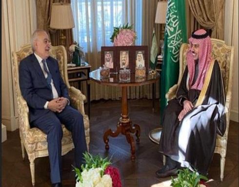 وزير الخارجية السعودي يبحث مع غسان سلامة مستجدات أوضاع ليبيا