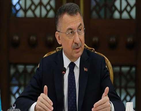 نائب أردوغان: سنتخذ التدابير للسيطرة على التسرب النفطي من سوريا