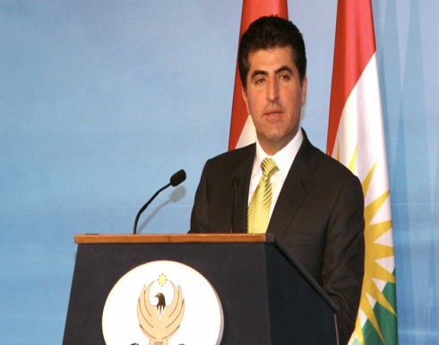 بارزاني: مستعدون لبدء المحادثات مع بغداد