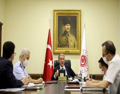 وزير الدفاع التركي يبحث مع أمين عام الناتو قضايا إقليمية