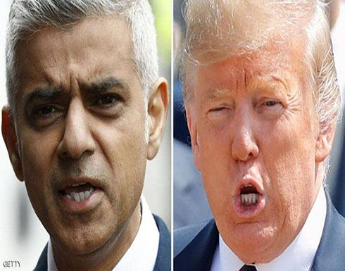 """ترامب يستغل """"لندنستان"""".. ويهاجم رئيس بلدية لندن"""