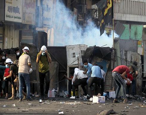 انفجارات تهز بغداد.. وهجوم بالسكاكين على المتظاهرين بكربلاء