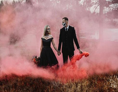 بالصور : جلسة تصوير حفل زفاف الأكثر رعبا