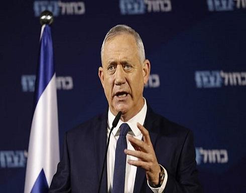 غانتس: إسرائيل لا تخطط لوقف إطلاق النار