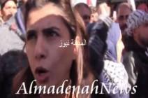 بالفيديو .. النائب السابق هند الفايز تهتف مع الأقصى وتدعو لإعتصام مفتوح
