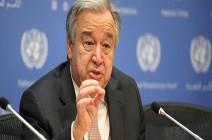 غوتيريش: اتفاق سوتشي سينقذ 3 ملايين شخص من كارثة بإدلب