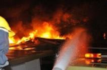 حريق داخل بلدية طبقة فحل في الاغوار..والامن يحقق