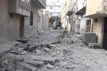 النظام يكثف غاراته على مخيم درعا للاجئين الفلسطينيين