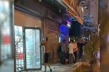 اصابة 8 مستوطنين بشظايا صواريخ اطلقت من غزة .. بالفيديو
