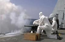 شاهد : مدفعية البحرية الملكية البريطانية تودّع الأمير الراحل