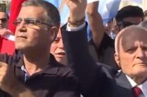 شاهد ..  المئات يتظاهرون في إسطنبول للمطالبة بحقوق التركمان في كركوك
