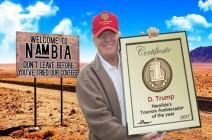 """ناميبيا تبث فيديو يسخر من تصريح ترامب عن """"الدول القذرة"""" ـ (شاهد)"""