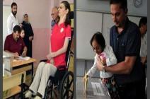 أطول فتاة وأقصر امرأة وأكبر مُعمرة يصوتن في الانتخابات التركية!